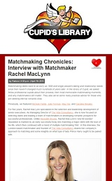 interview with matchmaker rachel maclynn