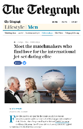 meet the matchmakers who find love for international jet set dating elite